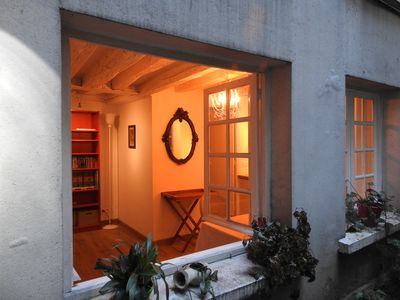 Photo for charming quiet large comfortable studio close to Notre-Dame