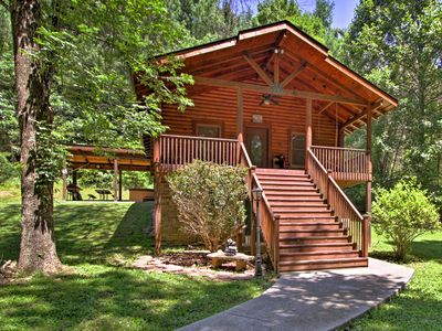 Photo for 'Little Creek' Sevierville Cabin w/ Hot Tub!
