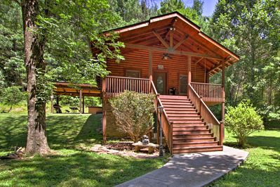 A relaxing escape awaits you at this Sevierville vacation rental cabin.
