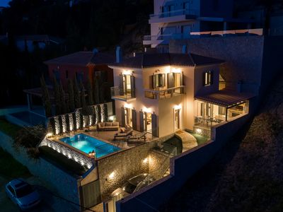 Photo for Stunning Maisonette close to the sea with breathtaking view and pool