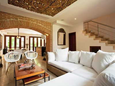 Photo for Luxury Villa in the old town of Cartagena, The Majic City