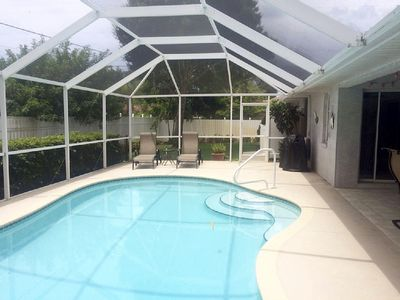 Private heated enclosed pool