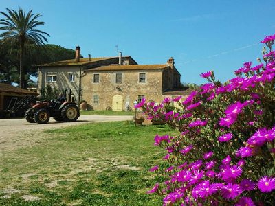 Photo for Spring SPECIAL OFFER farmhouse inside Maremma Natural Park - Talamone