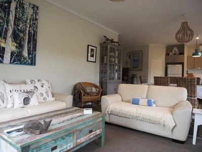 Ample relaxing and sitting room