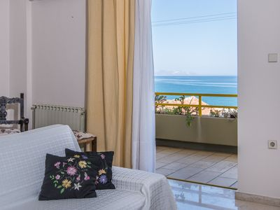 "Photo for ""Eftihia""- Bright big apartment with sea view"