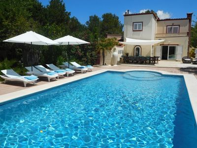 Photo for Stylish villa with private pool nearby San Jose