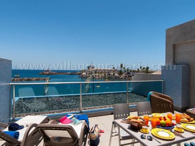 Photo for 2 bedroom Villa, sleeps 4 in La Playa de Mogán with Air Con and WiFi