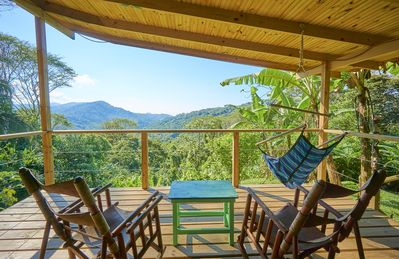 Photo for Private Getaway, Jungle Views & A Peek of the Ocean!