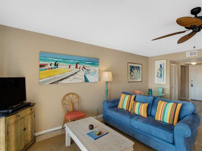 Photo for Beachfront Condo II 202A (Out of the Blue)
