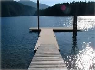 View Of Dock And Lake ideal for a boat and sitting out and enjoying the water