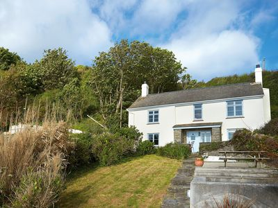 Photo for Downsteps is a charming and lovingly restored 200 year old beachside fisherman's cottage.