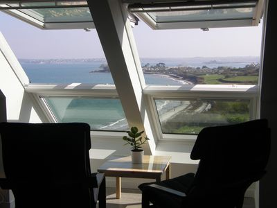 "Photo for EXCEPTIONAL SEA VIEW - comfort and calm -Appt ""Furnished tourist 4 STARS"""