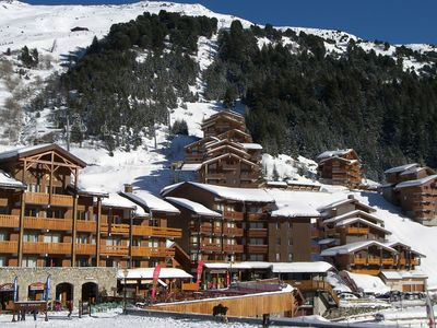Photo for Ski-in / ski-out apartment in the center of Hameau in Meribel-Mottaret