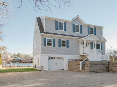 Photo for Bass River WATERFRONT, NEW Home with Dock.