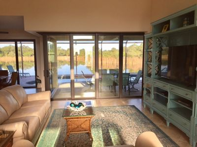 Spacious Family Room with Beautiful  Serene View