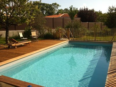 Photo for Villa 6-8 pers with heated pool 5 minutes from La Rochelle