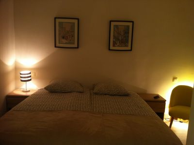 Photo for Charming two double rooms with air conditionner close to th sea and the Palais
