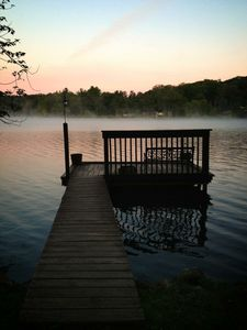 Lakeside back dock