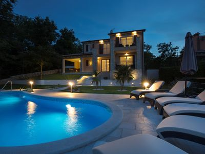 Photo for New Villa with pool surrounded by the quiet of the woods