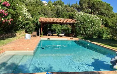 Photo for Ground floor of the villa with heated pool