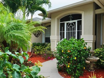 Photo for Gorgeously Landscaped 3/2 home on Marco Island