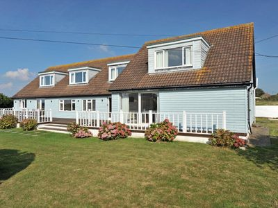 Photo for Stunning Large House in Watergate Bay with Sea Views, Terrace, Garden, Sleeps 14