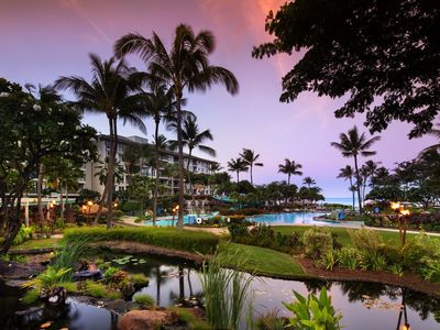 Photo for WESTIN KĀ'ANAPALI VILLAS South OCEAN VIEW - 1 Bedroom (7 nights min & max only)