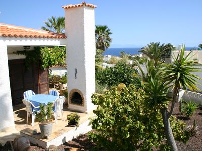 Photo for Spacious holiday home with pool, terraces w/sea view, near beach