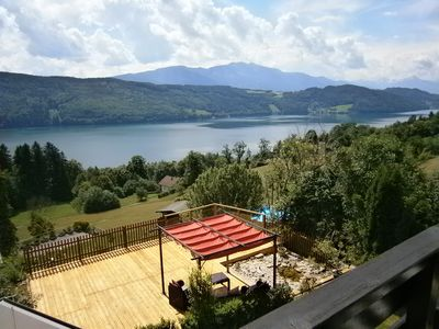 Photo for Stunning views of Lake Millstatt from your private balcony, surrounded by nature