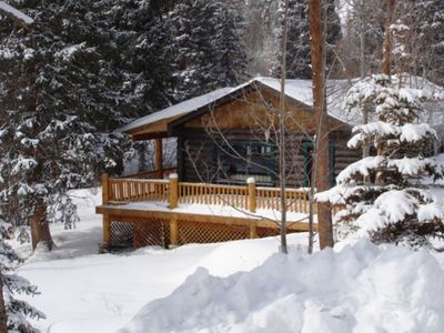 Photo for Beautiful Romantic Secluded Cabin on the Colorado River