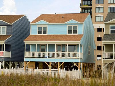 Absolute Bliss, Luxury Ocean Front Home in Cherry Grove with a Pool
