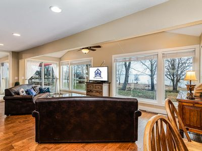 Photo for Steps to Lake Tablerock! Luxurious over 2000 sf Lakefront and Acess Red Bud Cove