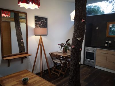 Photo for Atypical cottage with tree inside CALM