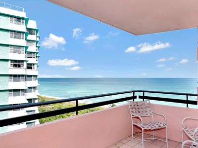 Photo for Ocean Front Living Beautiful 2 BR Condo