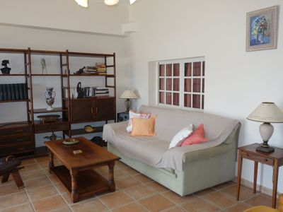 Photo for Apartment 1.5 km from the center of Saint-Cyr-sur-Mer with Parking, Internet, Washing machine, Terrace (103439)