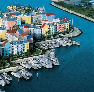 Photo for Three bedroom Harborside Villa. All Atlantis access!