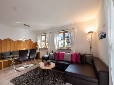 """Photo for Modern holiday apartment """"Sonnenhang"""" with panoramic view in the holiday resort Garmisch-Partenkirchen"""