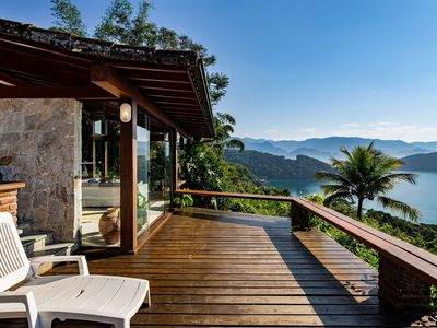 Photo for Ang034 - Magnificent three bedrooms house in Angra dos Reis