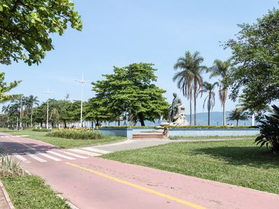 Photo for Beachfront in the heart of Santos