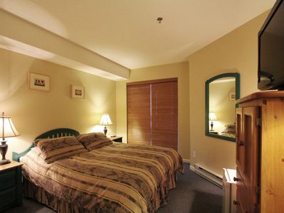 Photo for Marketplace Lodge #2H5  Hotel Room with Queen Bed and Balcony
