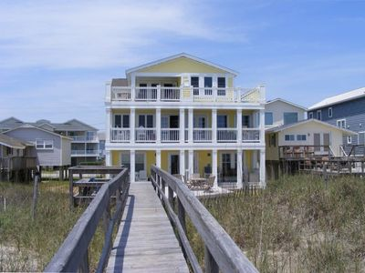 Photo for Oceanfront Duplex with Great Decks  and Wifi