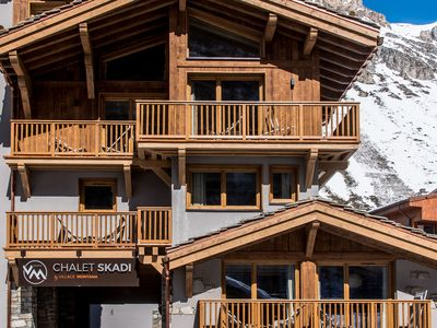 Photo for Luxurious residence with spa near the pistes and the centre of posh Val d'Isère