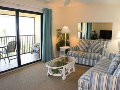 Photo for Ocean's Reach - Unit 2B4 - Directly Beachfront!
