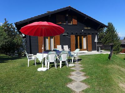 Photo for House in the center of Nendaz with Parking, Internet, Balcony, Garden (37343)