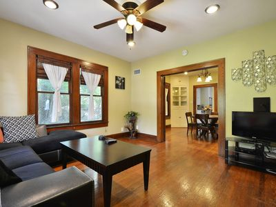 Photo for Charming House Travis Heights / South Congress - SoCo / Downtown Area
