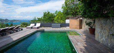Villa Mapou  -  Ocean View - Located in  Fabulous Salines with Private Pool