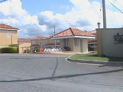 Mango Walk Country Club Entrance to Perfect Vacation with Security Gates