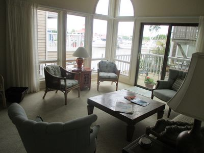 Photo for Luxury Condo on the Canal ; Perfect Spot in Historic Lewes ; Walk to the Beach