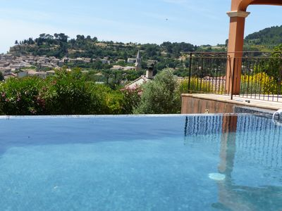 Photo for Villa with panoramic views, swimming pool and indoor swim spa