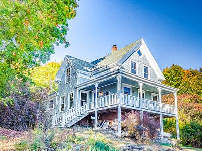 Photo for Renovated 4BR South Bristol Victorian on the Harbor with Water Views